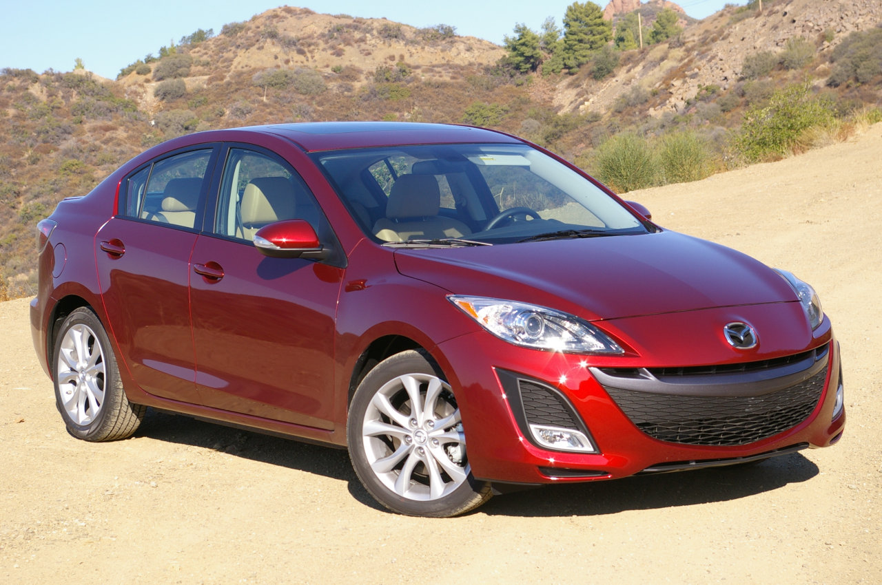 Auto Design 2012 Mazda 3 Sedan Car Wallpaper