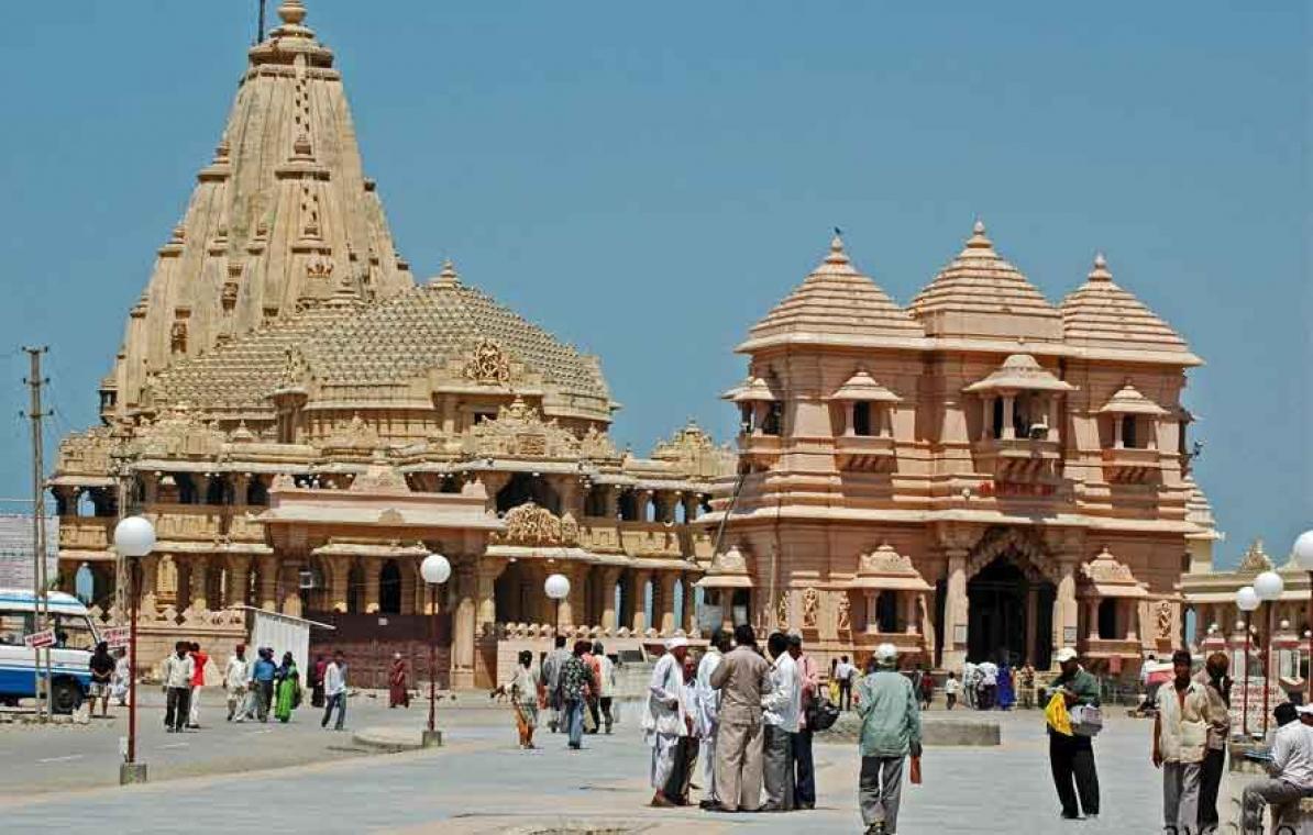 LIVE- Somnath Temple, Gujarat